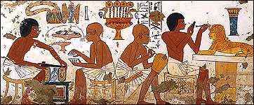 Trading system in ancient egypt